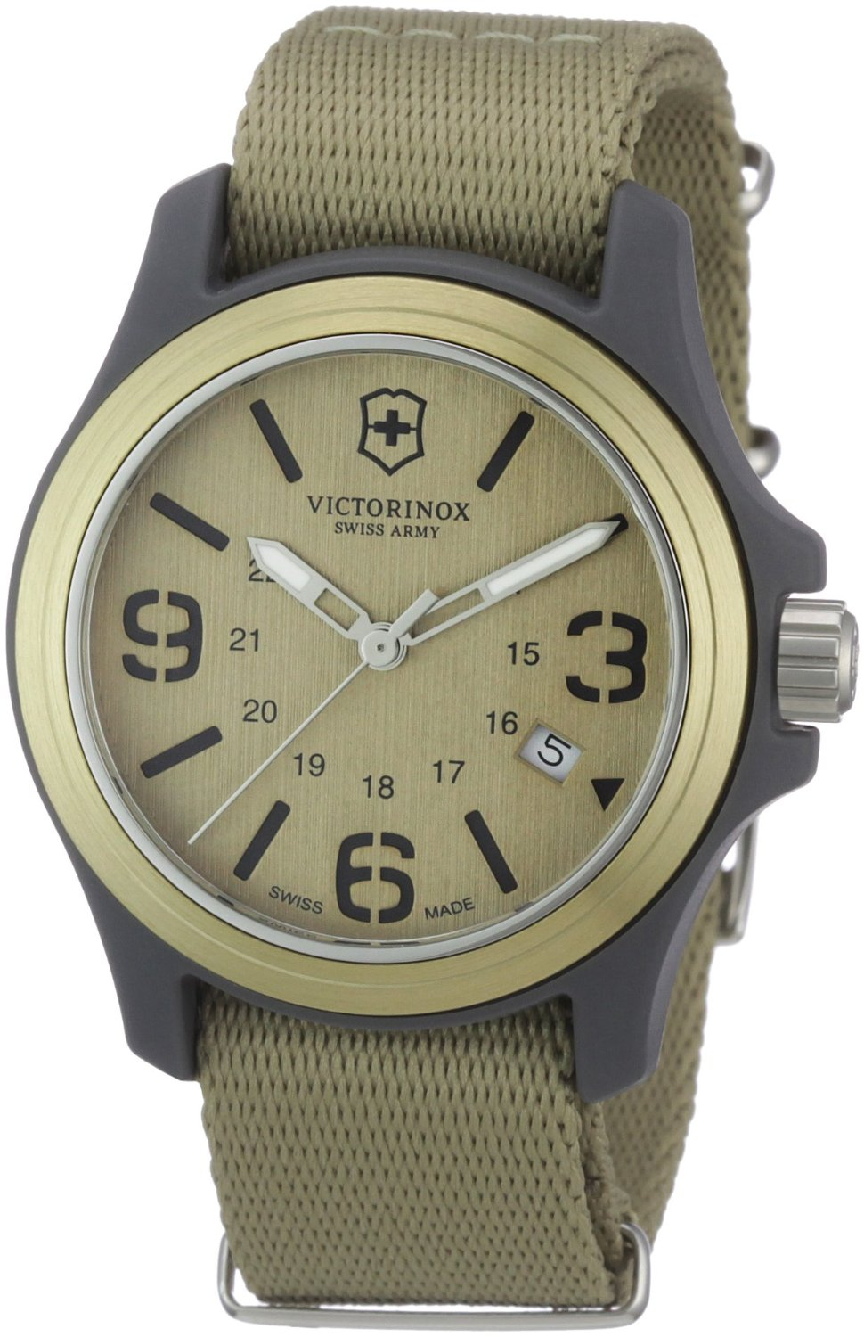 Victorinox Swiss Army Original Green Dial and Strap 241516 Men s Watch c216840713